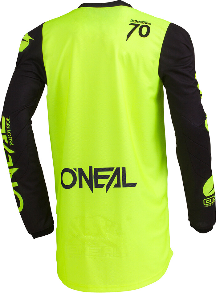 ONeal Threat Bike Jersey Longsleeve Men yellow black at Bikester.co.uk 71be5fe82